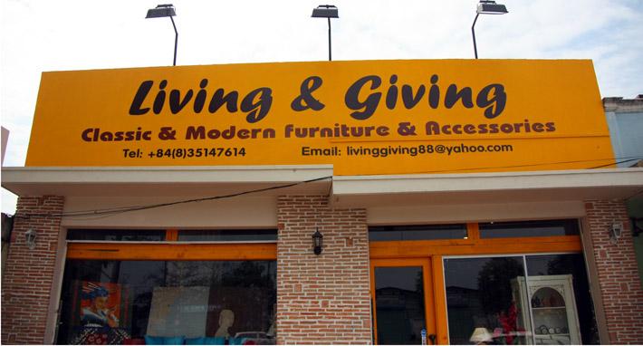 Cửa hàng living Giving