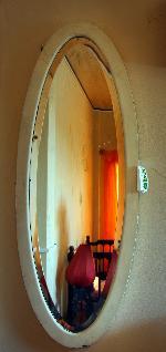 Gương treo tường oval